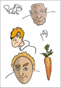 Coloration mit Illustrator
