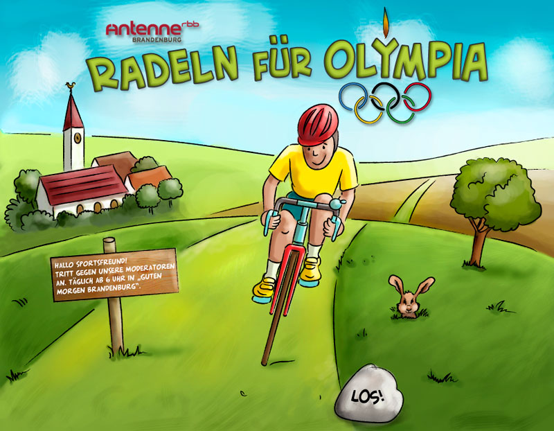 Radeln fuer Olympia