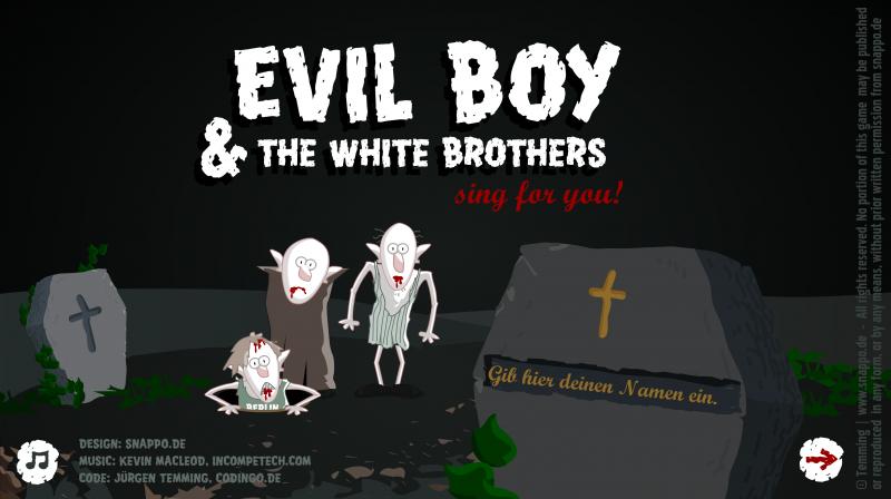 evil boy zombies